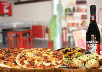 Porta Vía Pizza celebra el Día del Padre con un pack con dos pizzas, ensalada, 5 panes de ajo y una botella de Lambrusco por 24,95 euros